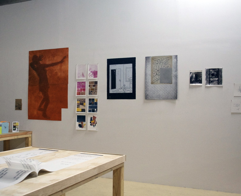 Hasty Show, Turn-Based Press, wall view two, 2013