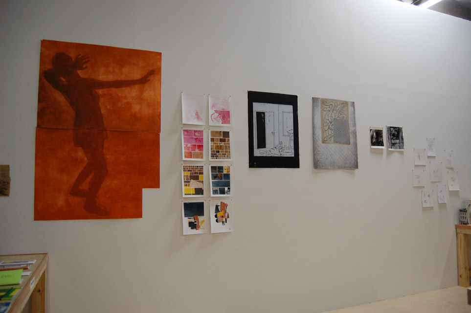 Hasty Show wall, Turn-Based Press, 2013