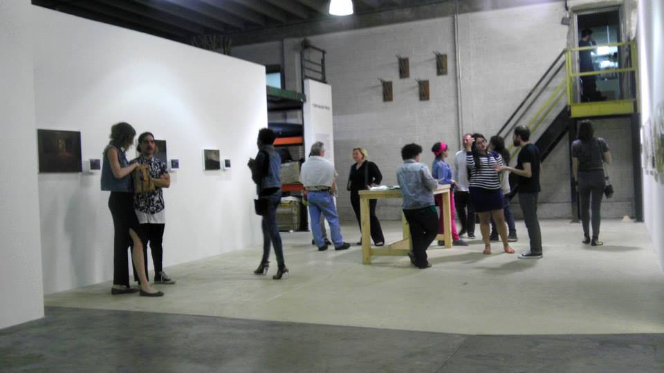 Fathoms at Turn-Based Press, show of FIU MFA Candidate work, March 2014, 3