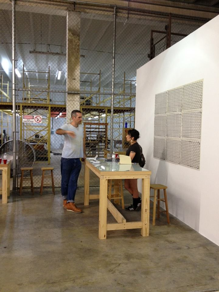 SOFLO at Turn-Based Press, photo by Tom Virgin