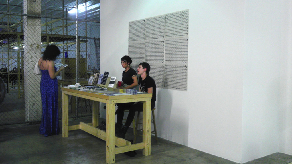 Turn-Based Press, Julia Arrendondo, Other Electricities Pop-up S